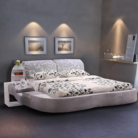 双人床 榻榻米 现代简约 大床 1 8米2 0米 1.5*1