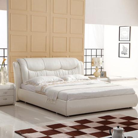 双人床1.5米1.8米 卧室家具 1.8*2米